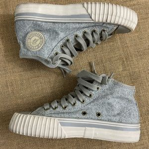 PF Flyers posture foundation high top sneakers